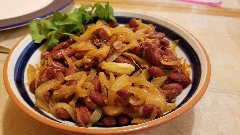 Burundi = beans and onions