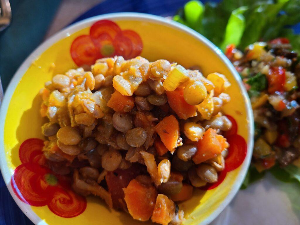 Bulgarian Lentil Stew