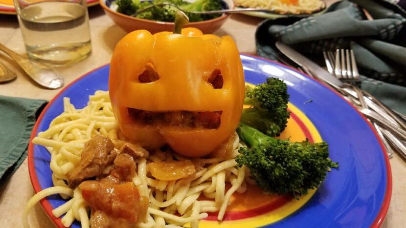 Austria Goulash barfing pumpkin