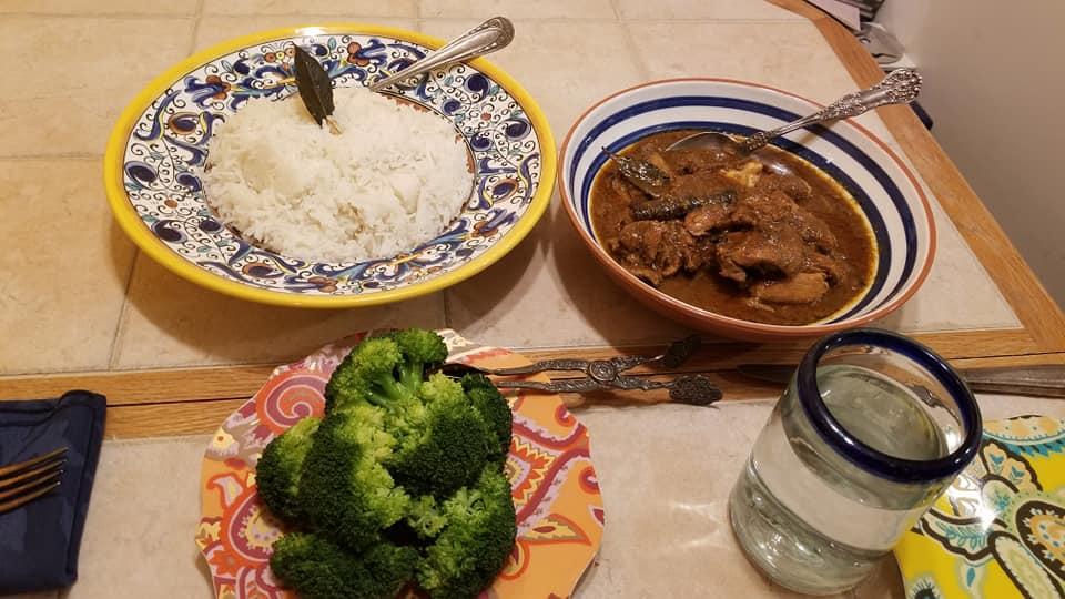Bangladesh meal