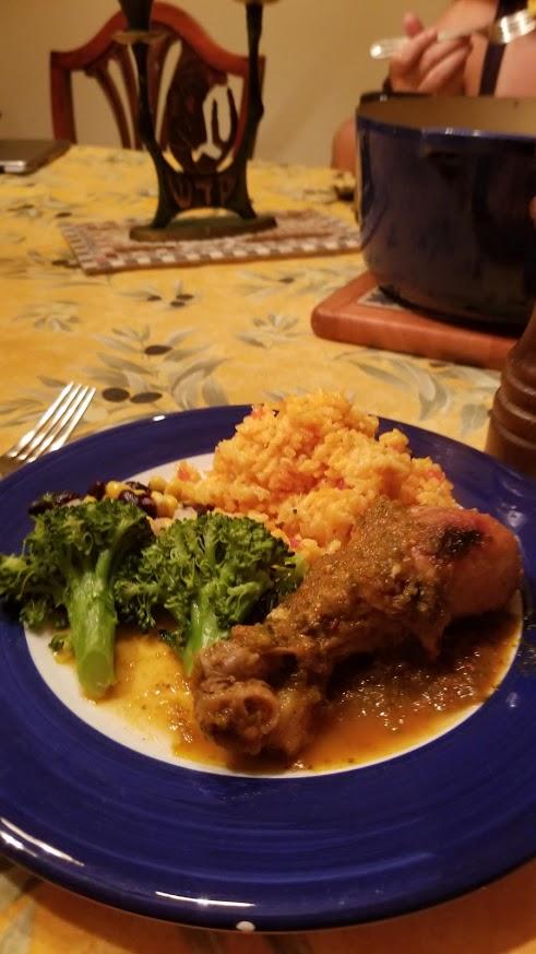 Ecuador - Seco de pollo & rice