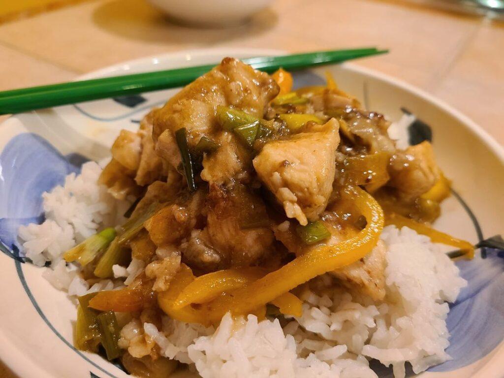China - Chicken with Mango